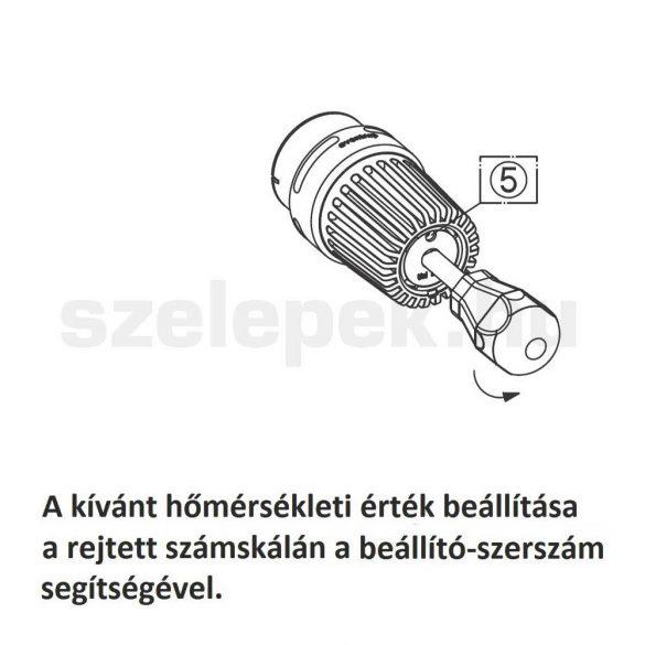 """OVENTROP beállító szerszám """"Uni LHB"""" termofej hőmérséklet-állításához (1011497)"""