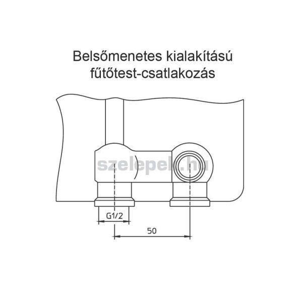 """OVENTROP """"Multiflex F"""" ZB golyóscsap-blokk, kétcsöves fűtési rendszerekhez, egyenes kivitelben, PN10, 1/2"""" km. x 3/4"""" km. (1015883)"""