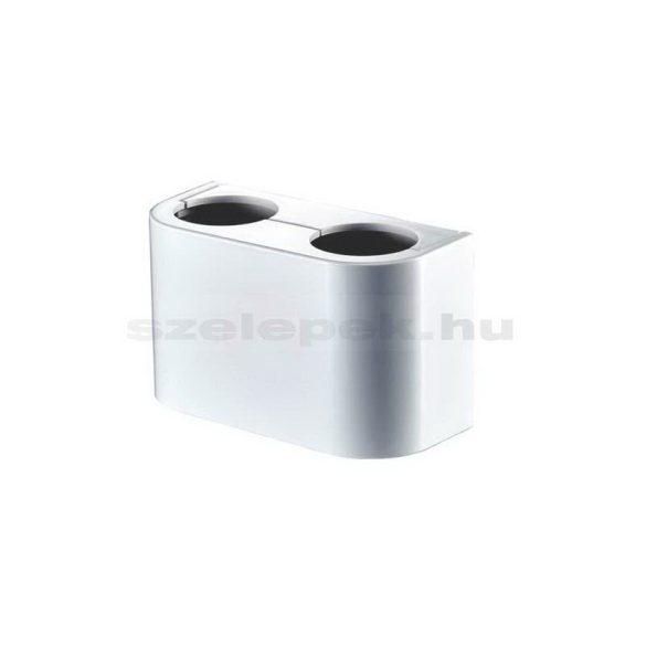 """OVENTROP Design műanyag takaróburkolat, fehér, sarok/egyenes kivitelű """"Multiflex F"""" ZB  szelepekhez"""