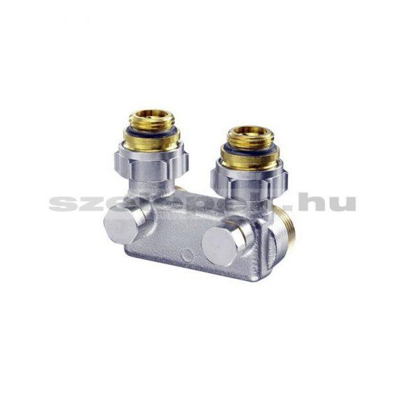 OVENTROP Áramlásfordító szerelvény szelepes fűtőtestekhez, sarok, G1/2 belső-menetes szelepes fűtőtestekhez