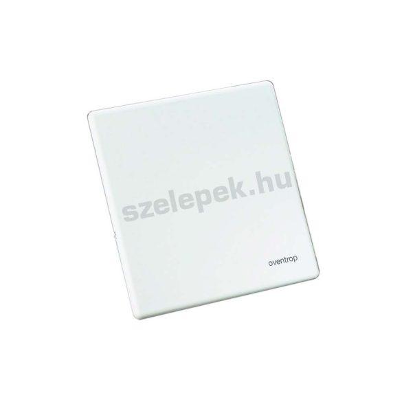"""OVENTROP Takarófedél  2020. év előtt beszerzett """"Unibox E RTL"""" termosztatikus padlófűtési szabályozóhoz, fehér színben (1022689)"""