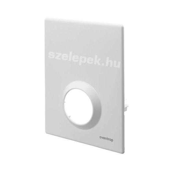 """OVENTROP Takarófedél 2020. év előtt beszerzett """"Unibox RTL"""" termosztatikus padlófűtési szabályozóhoz, fehér színben (1022693)"""
