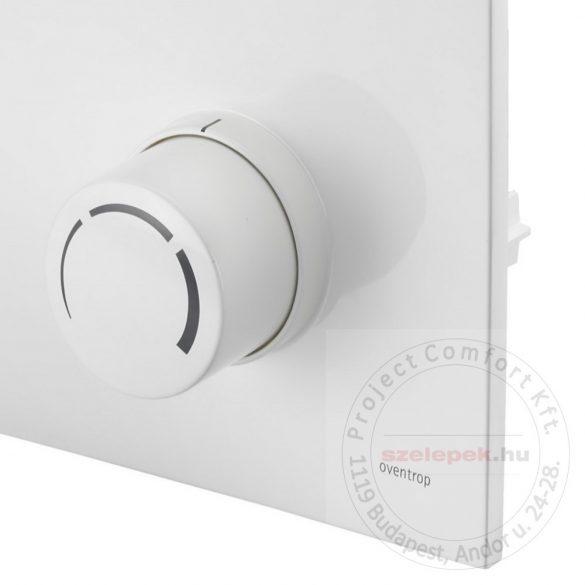 """OVENTROP """"Unibox-RTL"""" termosztatikus szabályozó padlófűtéshez, PN10, fehér, műanyag takarólemezzel (1022735)"""