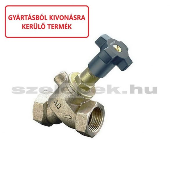 OVENTROP Ferdeülékű szelep, PN25, DN40, belsőmenetes kivitelben (1050212)