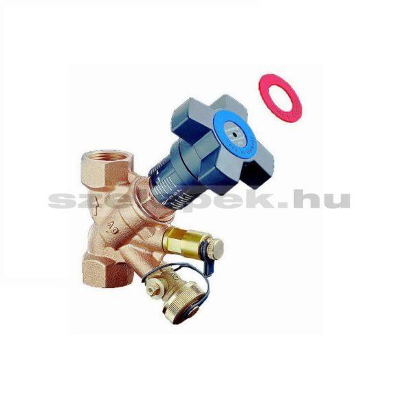 """OVENTROP DN15 (1/2"""") """"Hydrocontrol VTR"""" beszabályozó szelep, PN25, 3. sz. tartozék-készlettel szerelve (1060304)"""