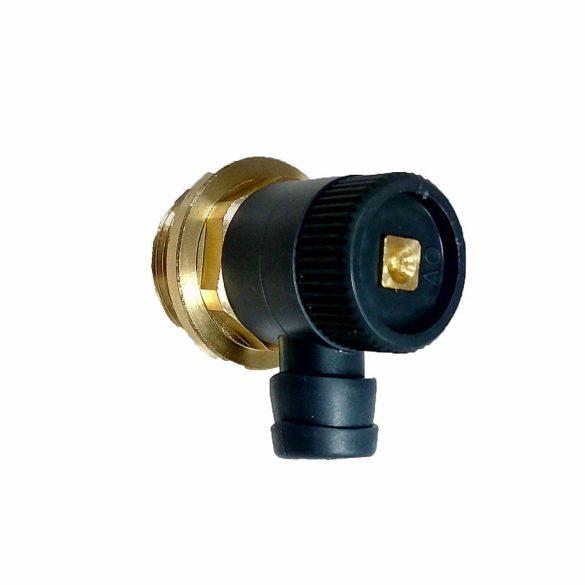 """OVENTROP G1/4 ürítőszelep radiátorokhoz, PN10, 3/8"""" méretű tömlőcsatlakozáshoz"""