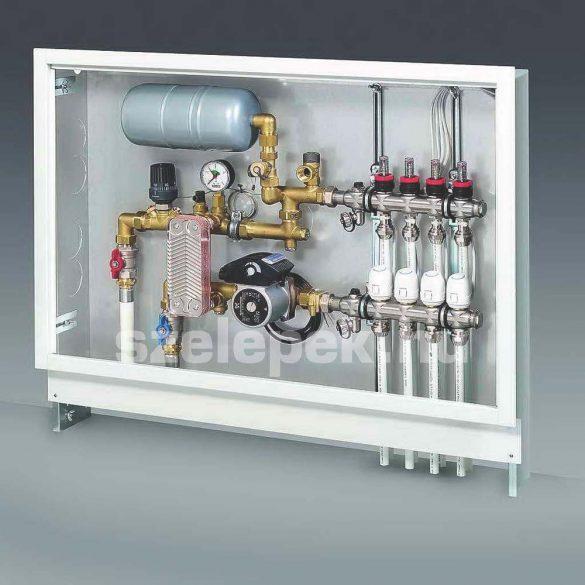 """OVENTROP """"Regufloor HX"""" DN25, PN6/PN3, moduláris keringető- és szabályozó egység, elválasztott fűtővizes padlófűtési áramkörökhöz,  (1151065)"""