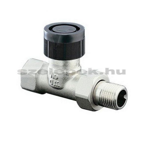 """OVENTROP DN15 (1/2"""") """"A"""" tip. termosztatikus fűtőtestszelep, PN10, egyenes kivitel, M30x1,5 mm (1181104)"""
