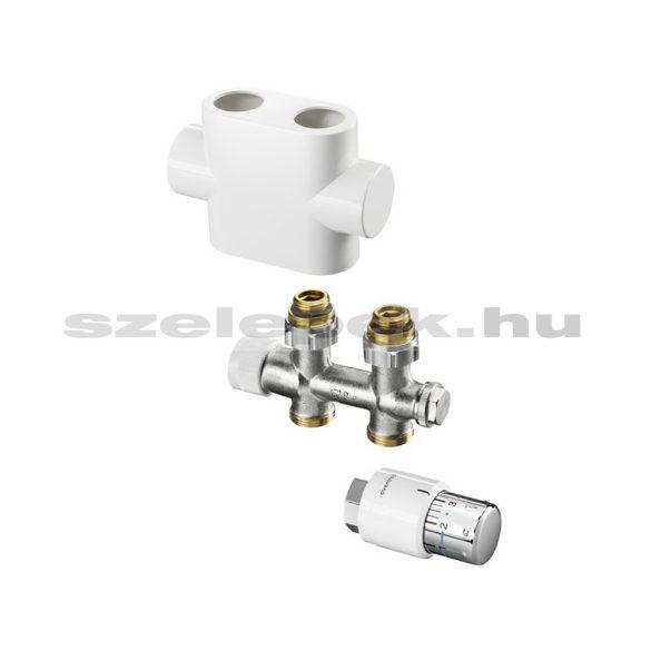 """OVENTROP """"Multiblock T"""" multifunkciós termosztatikus fűtőtestszelep, egyenes kivitelben (1184013)"""
