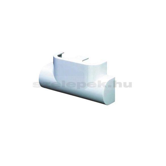 """OVENTROP Design takaróburkolat """"Multiblock T"""" sarok kivitelű fűtőtestszelepekhez, fehér (1184096)"""