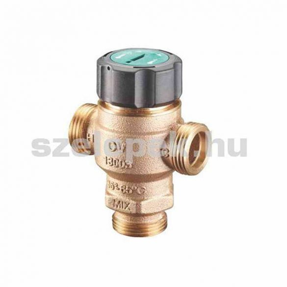 """OVENTROP """"Brawa-Mix"""" termosztatikus keverőszelep használati melegvízhálózatokhoz,, DN32, külsőmenetes kivitelben (1300310)"""
