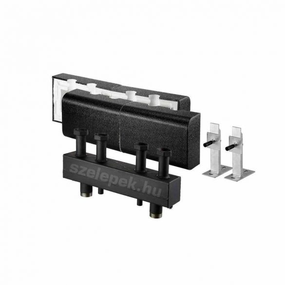 """OVENTROP DN32 """"Hydrofixx"""" hidraulikus váltóval kombinált moduláris osztó-gyűjtő, acélból, 2 db """"Regumat"""" modul beépítéséhez (1351758)"""