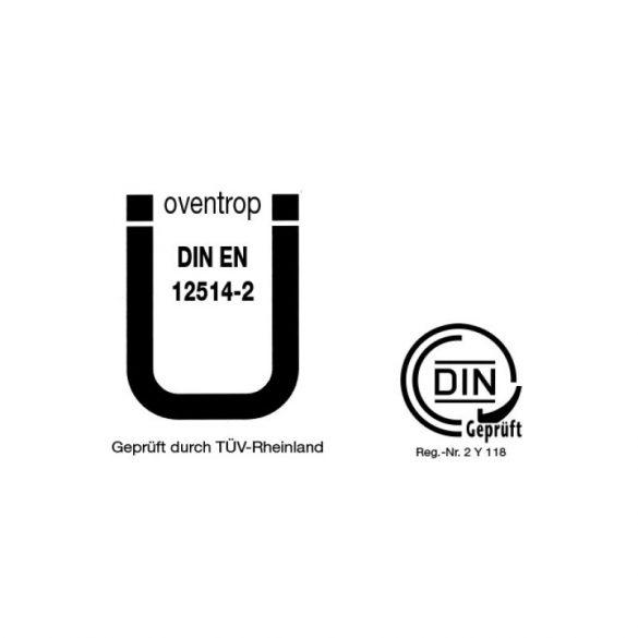 """OVENTROP DN15 """"Oilpur E"""" olajszűrő tüzelőolajokhoz, egyvezetékes rendszerekhez, G1/2 belsőmenetes kivitelben, nikkelhálós szűrővel"""