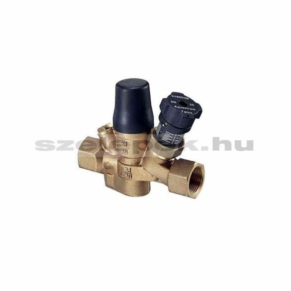 """OVENTROP """"Aquastrom T plus"""" beszabályozó- és szabályozószelep cirkulációs vezetékekhez, PN16, DN25, belsőmenetes kivitelben (4205608)"""