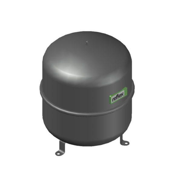 """REFLEX """"N 35"""" típusjelű membrános tágulási tartály, 35 literes, P 4,0 bar, szürke színben (8208401)"""
