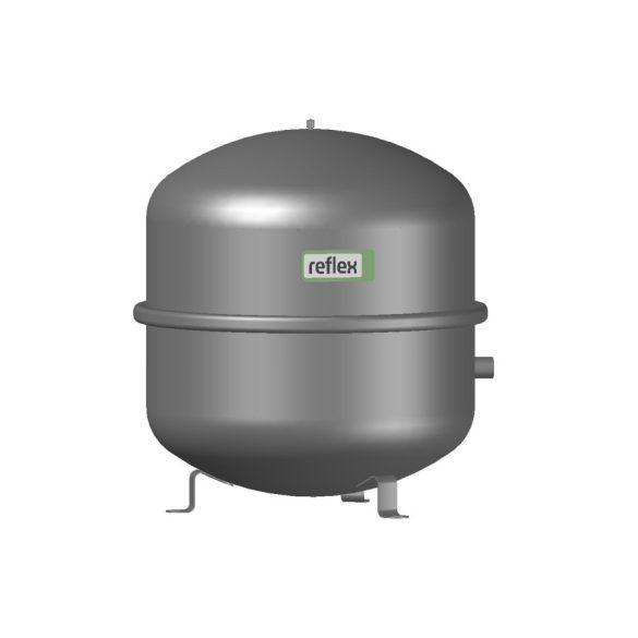 """REFLEX """"N 50"""" típusjelű membrános tágulási tartály, 50 literes, P 6,0 bar, szürke színben (8209300)"""