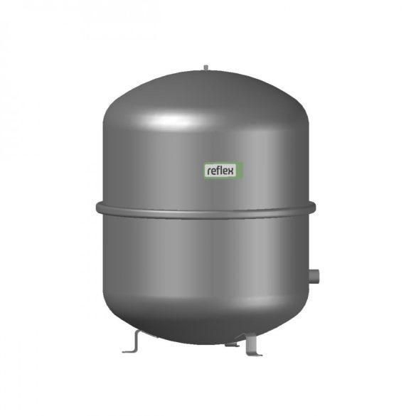 """REFLEX """"N 100"""" típusjelű membrános tágulási tartály, 100 literes, P 6,0 bar, szürke színben (8216300)"""
